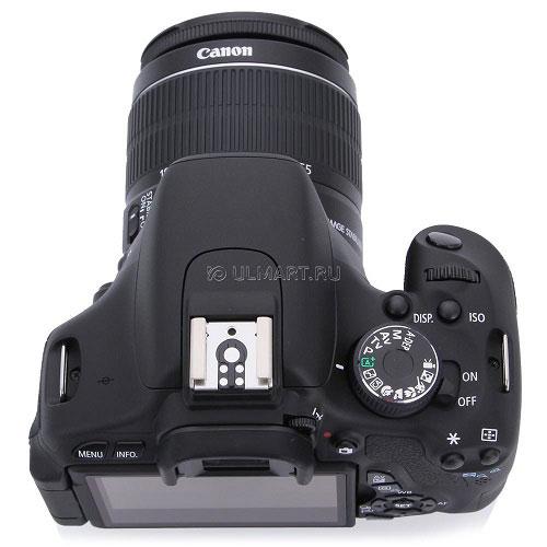 Canon 600D +Kit 18-55 IS II