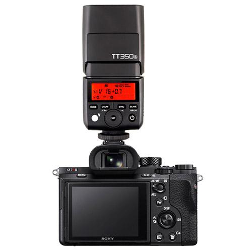 Đèn Flash Godox TT350s for Sony A7, A7II, A6000, A6300 ...