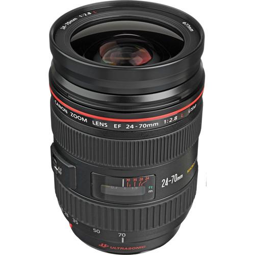 Lens Canon EF 24-70MM F/2.8 L USM