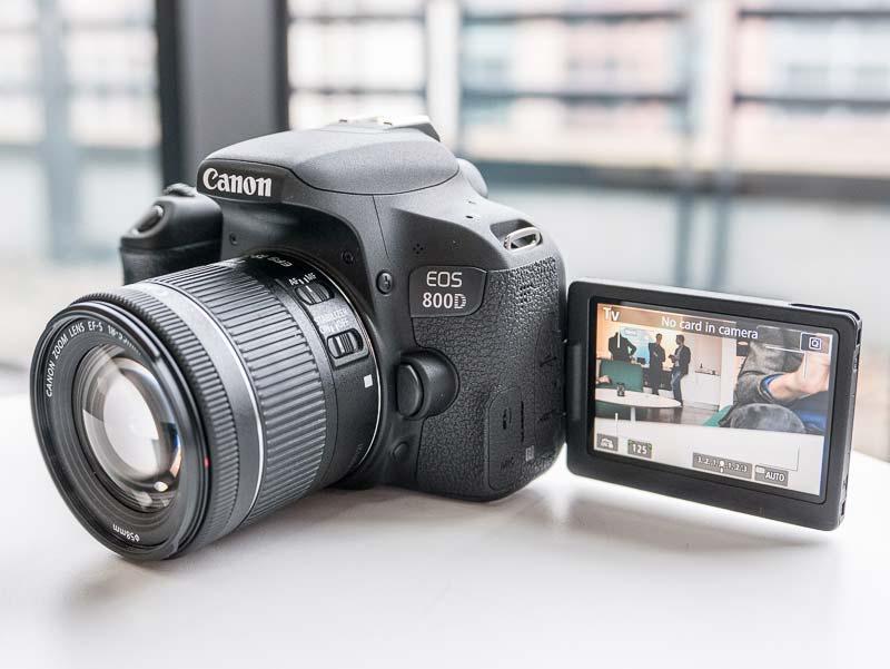 Những nét đặc biệt của Canon EOS 800D KIT 18-55MM STM